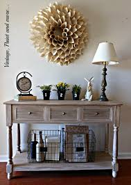 antique entryway furniture. vintage paint and more spring entryway done with finds crafted antique furniture s