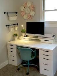 desk ideas pinterest. Exellent Pinterest 42 Inexpensive Craft Room Ideas From Ikea 48 Alex Linnmon  4 For Desk Pinterest S