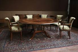 Round Dining Table For 6 With Leaf Dining Tables Round Marble Top Dining Table Set Wood Table