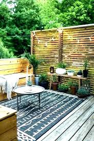 apartment patio privacy ideas.  Privacy Apartment Balcony Privacy Ideas Patio For  Beautiful  On Y
