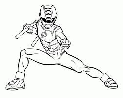 It's also a movie released in 2017. Power Ranger Jungle Fury Coloring Pages Coloring Home