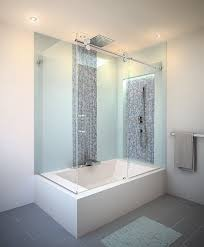 contemporary sliding shower doors. large bathroom wall cabinets with contemporary frameless shower enclosures - sliding doors