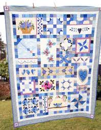 Pictures of Sampler Quilts to Inspire Your Next Quilt & My Blue Heaven Sampler Quilt Adamdwight.com
