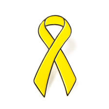 Small Picture Childhood Cancer Awareness Pin Military Lapel Pin Ribbon Liver