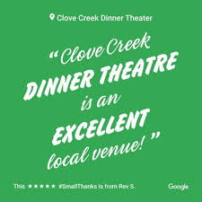 Clove Creek Dinner Theater Seating Chart Home Clove Creek Dinner Theater Llc