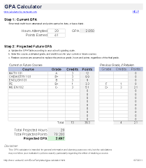 Excel Grade Calculator Template Free Gpa Calculator For Excel How To Calculate Gpa
