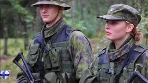 Sexy american military women