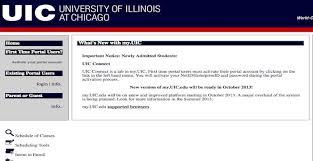 Uic Webmail Uic Blackboard Uic Webmail Uic Library My Uic Uic