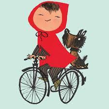 Kek Amsterdam Riding My Bike Groen Behang Flinders Verzendt Gratis