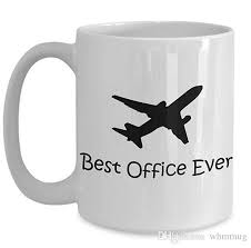 funny helicopter pilot coffee mugs tea cup perfect gift for birthday event present idea for men women best office ever make custom mugs make