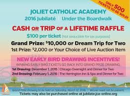 jubilat eacute cash raffle early bird drawing on monday st jubilate fundraiser