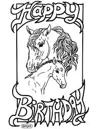 Colouring pictures of a horse. Coloring Pages Breyerhorses Com