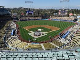Dodger Stadium View From Reserve Mvp 2 Vivid Seats