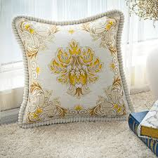 high end pillows. Modren Pillows High End Luxury Sofa Cushions Embroidered Pillow Square Fashion Bag Big  Waist Pillowcase In Cushion From Home U0026 Garden On Aliexpresscom  Alibaba Group Throughout End Pillows