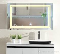 led bathroom mirror lighting. LED Bathroom Mirror 24 Inch X 36 | Lighted Vanity Includes Defogger \u0026 Touch Led Lighting N
