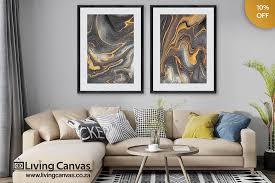 gold framed art set wood framed wall art