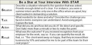 Star Panel Chart How Your Sendout Can Star At A Panel Interview Ere