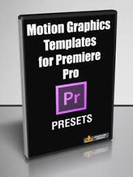Details About 21 Motion Graphics Templates For Adobe Premiere Pro Digital Download