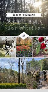 experiencing garvan woodland gardens in hot springs arkansas
