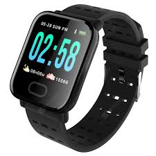<b>A6 Color</b> Screen Smartphone Watch Black Smart Watches Sale ...
