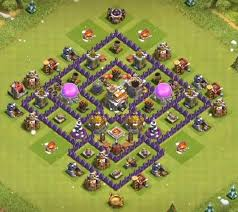 Base 7 12 Best Town Hall 7 Hybrid Bases 2019 New Clash Of