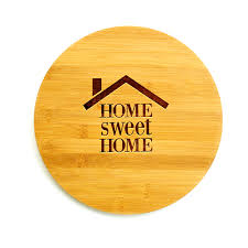 Small Picture Personalised Chopping Board Home Sweet Home Real Estate