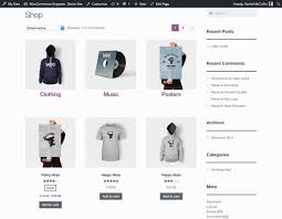 products page display woocommerce categories subcategories and products in