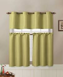 Kitchen Window Curtain Panels 2 Tier Kitchen Curtain Decorate Our Home With Beautiful Curtains