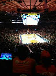 Madison Square Garden Section 217 Row 3 Seat 3 New