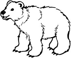 Disegno Di Orso Da Colorare Disegni Da Colorare E Stampare Gratis