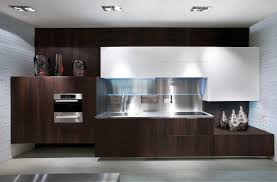 Wood Veneer For Cabinets Contemporary Kitchen Wood Veneer Lacquered Monforte Scic