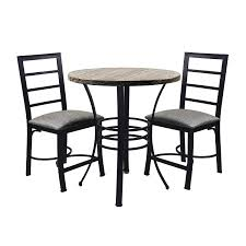 Amazoncom Nbliner Small Kitchen Dining Table Round With Chairs
