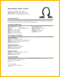 Resume Writing Format Fascinating Sample Resumes Job Application Biotech Companies A Resume For