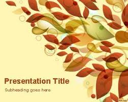 Autumn Leaves Powerpoint Template Is A Free Powerpoint Template