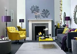 Purple And Gray Living Room Decoration Yellow And Purple Bedroom Ideas Purple  Yellow And Gray Living