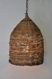 funky lighting fixtures. french bee skep pendent light funky lighting fixtures a