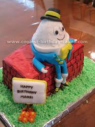 Coolest Humpty Dumpty Cakes On The Webs Largest Homemade Birthday