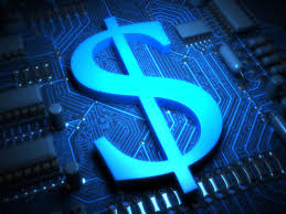 Image result for electronic money sign