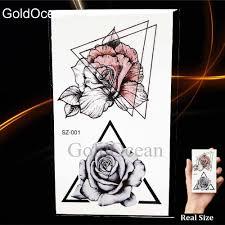 черные татуировки наклейки карандаш эскиз временная татуировка женский боди арт