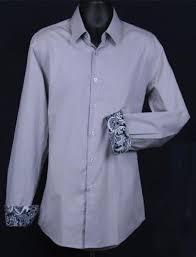 Men's Patterned Dress Shirts Inspiration Men's Slim Fit Dress Shirt Cuff Pattern