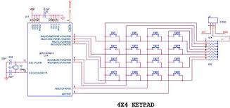 interface keypad picfa pic development board circuit diagram to interface keypad pic16f877a