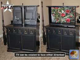 tv cabinet lift mechanism. Modren Cabinet Custom Made Black Foot Of The Bed Tv Lift Cabinet With Swivel Mechanism Throughout N