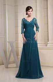 Light Blue 3 4 Sleeve Dress Light Blue Bridesmaid Dress With Three Square Sleeves