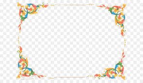 Free Border For Word Microsoft Word Flower Clip Art Free Flowers Border Png Download