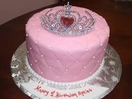 Simple Princess Birthday Cakes Classic Style Homemade Disney