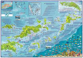 Bvi Navigation Charts British Virgin Islands Frankos Fabulous Maps Of Favorite