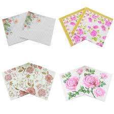 Flower Printed Paper 2019 Rose Printed Paper Napkins Festive Party Paper Plates Tissue Disposable Tableware Floral Decoration For Dinner From Anzhuhua 22 32 Dhgate Com