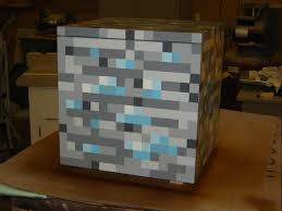 Minecraft Diamond Ore toy chest ...