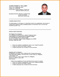 Resume Objective Examples For Ojt Sample Hrm New Example Job
