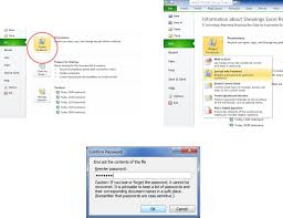 Encrypted Excel Files How To Protect A Workbook In Excel 2010 Danjharrington
